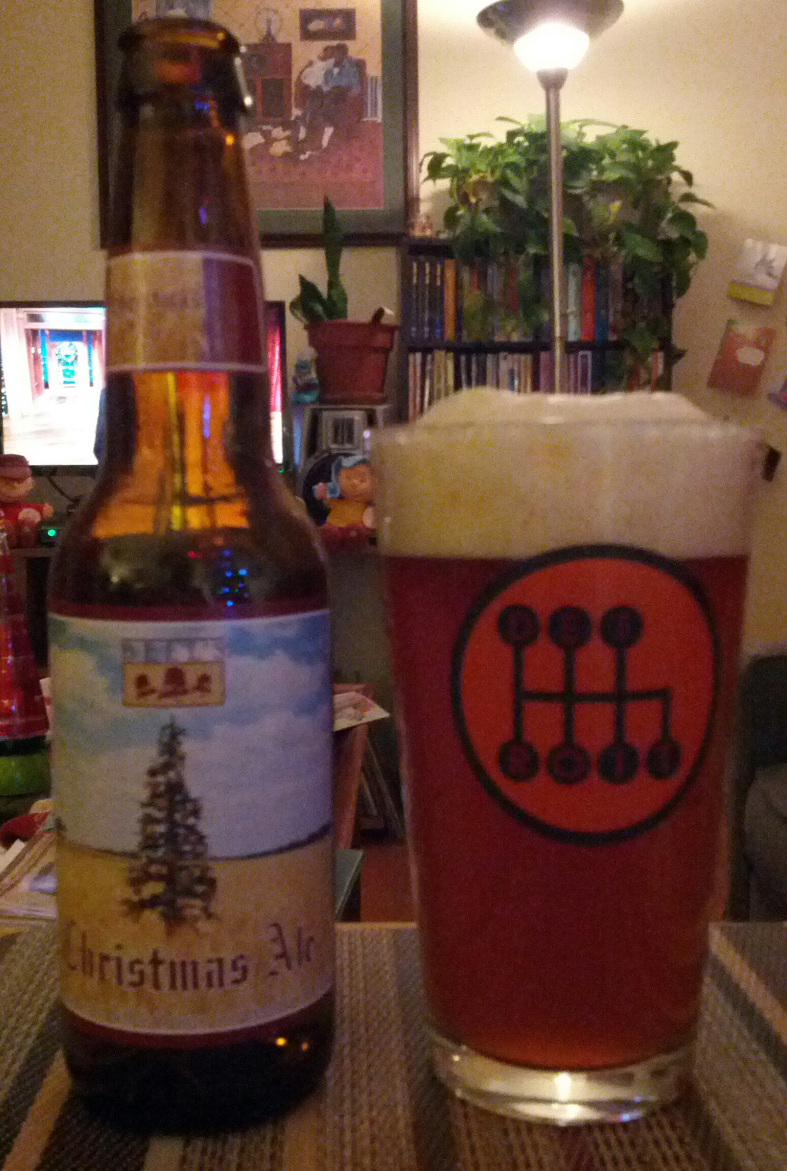Bells Christmas Ale.Pale Ale Sipology