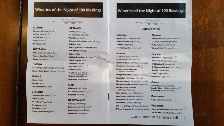 The 100 Rieslings