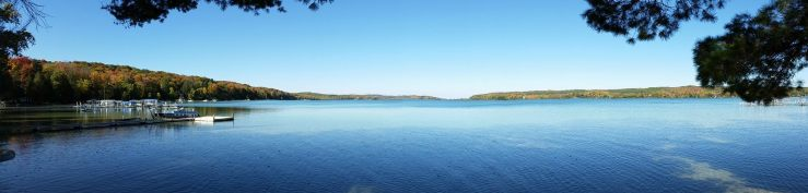 panoramic walloon lake